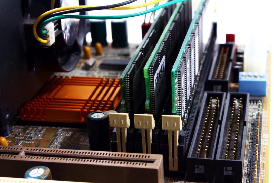 pamięć RAM w komputerze